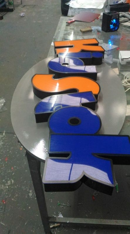 Comprar Letra Caixa de PVC Mairiporã - Letra Caixa de Acrílico