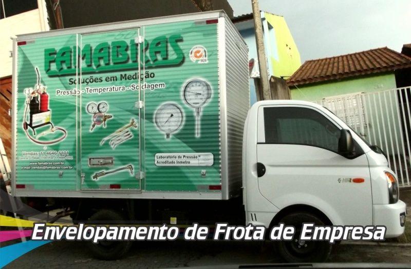 Empresa de Envelopamento de Carros de Frotas Ferraz de Vasconcelos - Envelopamento para Viaturas