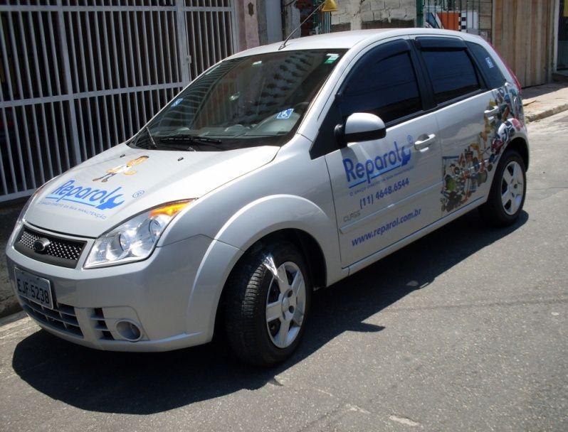 Empresa de Envelopamento de Carros de Lojas Mauá - Envelopamento para Frota de Automóveis