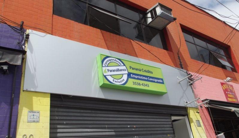 Empresa de Fachada Santana de Parnaíba - Fachadas Comerciais