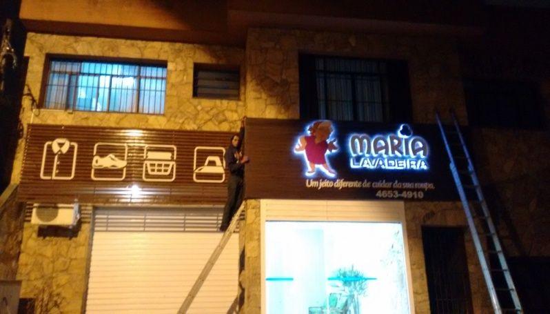 Empresa de Letra Caixa Retroiluminada na Vila Matilde - Letra Caixa Galvanizada