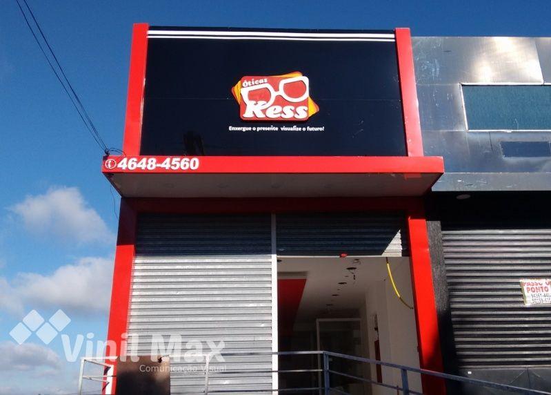 Empresa de Letra de Acrílico Mooca - Letreiro para Loja