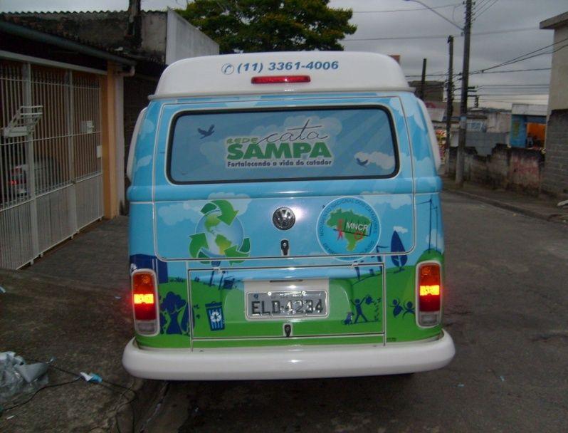 Envelopamento de Carros de Limpeza em Sp Cidade Patriarca - Envelopamento para Viaturas