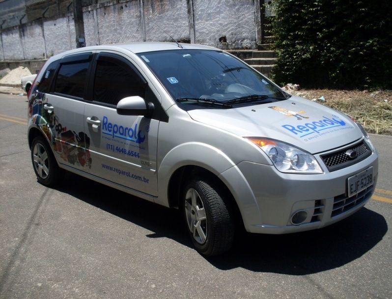 Envelopamento de Carros de Lojas em Sp Guararema - Envelopamento de Carros de Limpeza
