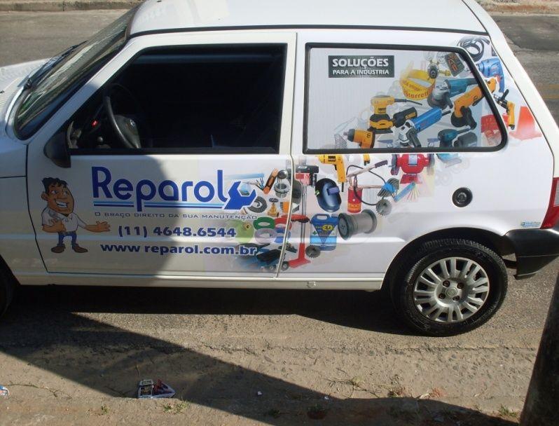 Envelopamento em Frotas de Empresas em Sp Cotia - Envelopamento de Carros de Limpeza