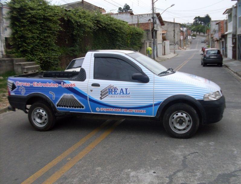 Envelopamento em Frotas de Empresas Taboão da Serra - Envelopamento de Carros de Limpeza