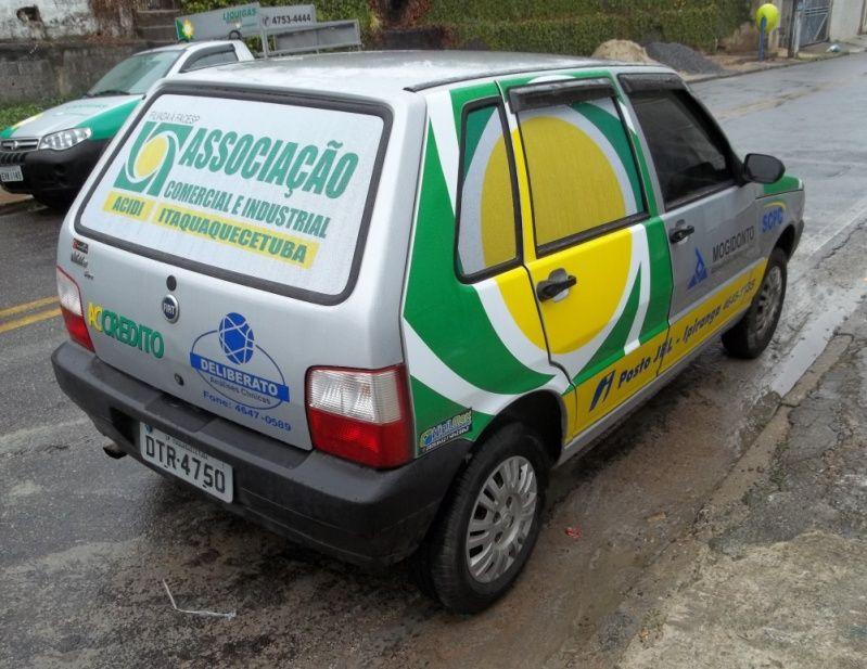 Envelopamento para Viaturas em Sp Rio Grande da Serra - Envelopamento para Carros de Empresas