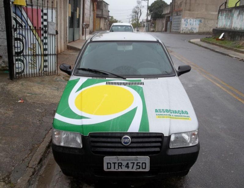 Envelopamento para Viaturas São Miguel Paulista - Envelopamento para Carros de Empresas