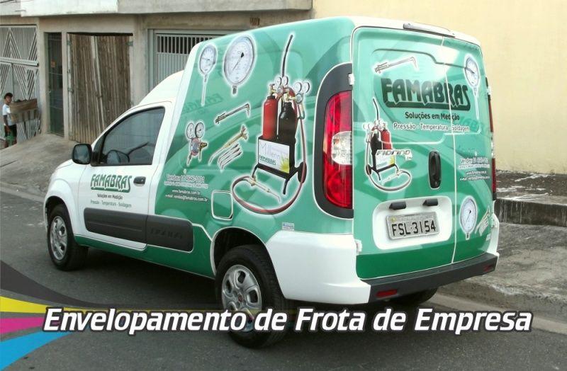 Envelopamentos de Veículos de Frotas Guaianases - Envelopamento para Frota de Automóveis