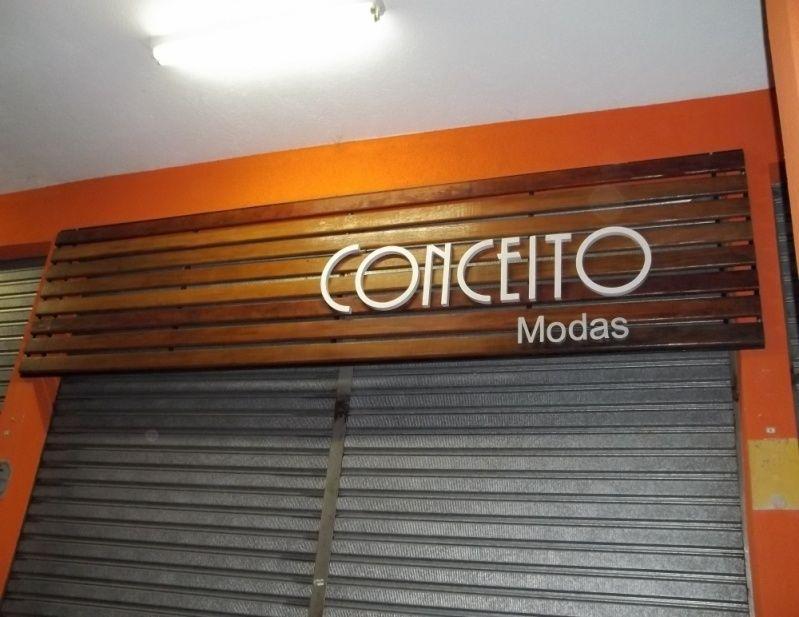 Letras Caixa em Acrílico Jandira - Letreiro para Loja