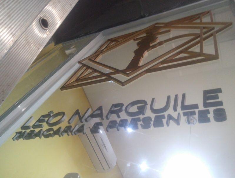 Letras Caixas Galvanizada São Miguel Paulista - Logo 3d