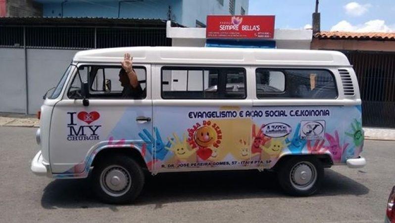Logotipo para Carro Parque São Lucas - Envelopamento Automotivo