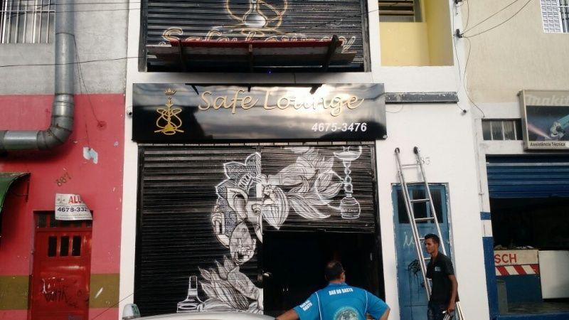 Placa de Acm Espelhado Preço na Vila Formosa - Fachada em Acm com Led