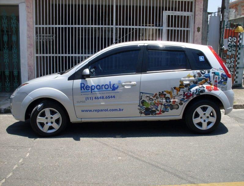 Preço de Envelopamento de Carros de Lojas Santa Isabel - Envelopamento para Viaturas