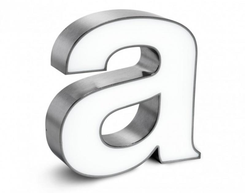 Quanto Custa Letra Caixa em Inox em Biritiba Mirim - Letra Caixa Galvanizada