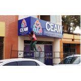 fachada de ACM com letra caixa orçamento de Itaim Paulista