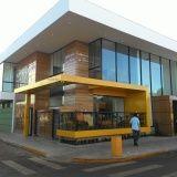 fachada de ACM com logo da empresa Santana de Parnaíba