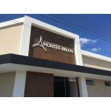 fachada de loja de ACM orçamento de Rio Grande da Serra