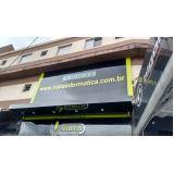 fachadas de loja com ACM Guararema