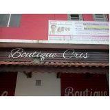 Letra galvanizada preço Cidade Patriarca