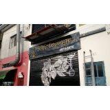 venda de letra para fachada de lojas Jardim Iguatemi